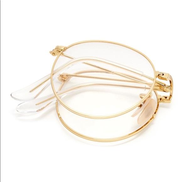 803d9f5c491d Ray-Ban Accessories   Rayban Gold Folding Optic Glasses   Poshmark